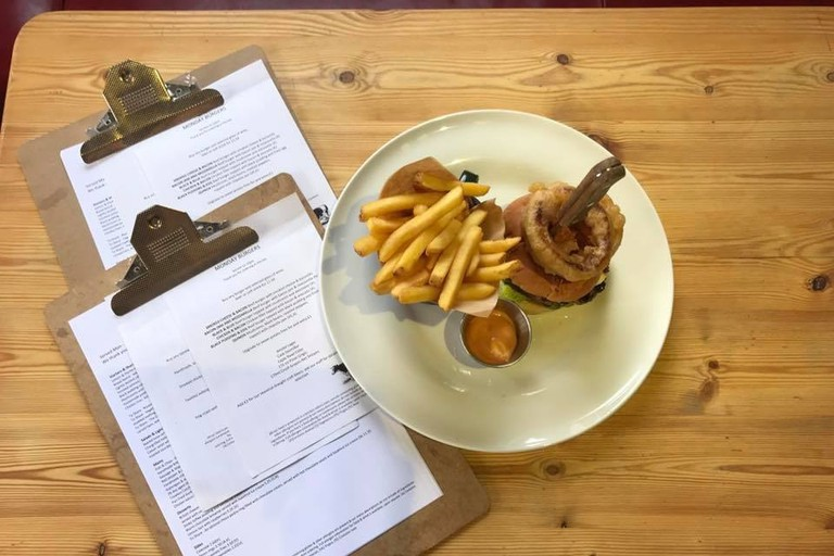 Burgers at The Brandling Arms