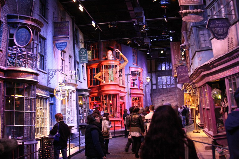 Diagon Alley at Harry Potter Warner Brothers Studio, London