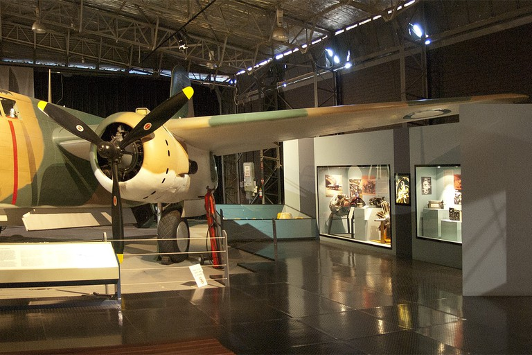 Douglas A-20C Boston A28-8 on display at the RAAF Museum