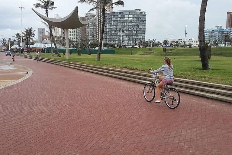 Bike & Bean is found on Durban's promenade