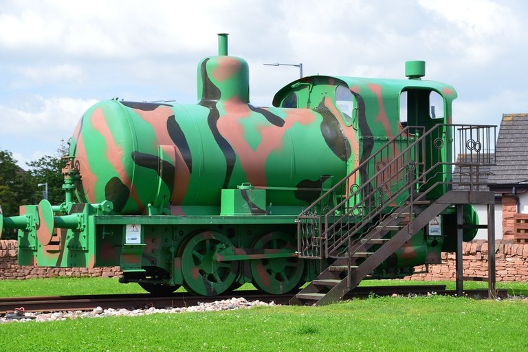Locomotive 'Sir James' At Devil's Porridge Museum