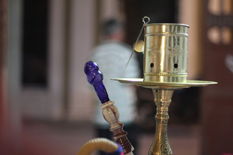 Hookah pipes are available at Ziryab CC0 Pixabay