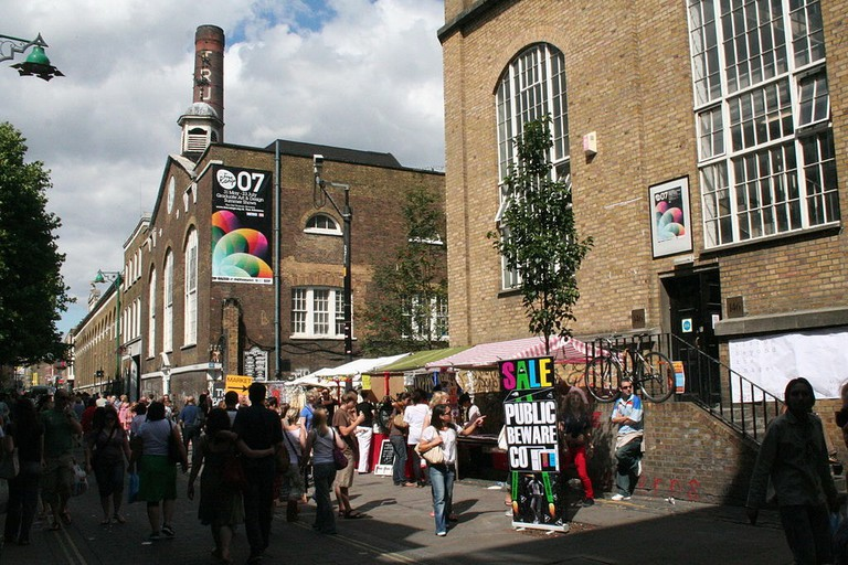 You'll find everything from vintage clothes, accessories and jewellery to music, arts and crafts in Brick Lane