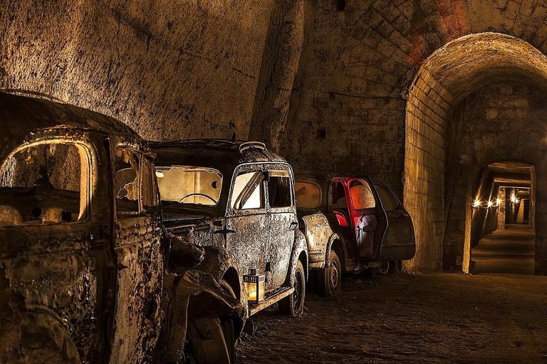 Galleria Borbonica | © Associazione Culturale Borbonica Sotterranea/WikiCommons
