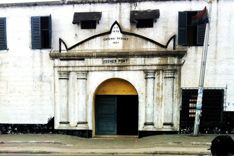 Entrance to Ussher Fort
