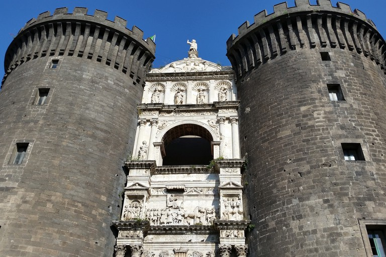 Castel Nuovo is often referred to as Maschio Angioino by the locals