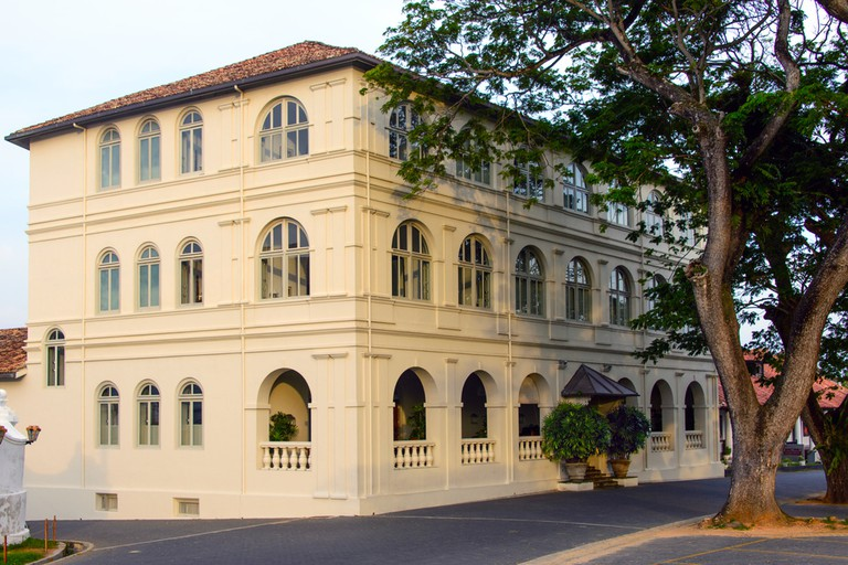 All photos sourced with permission from Aman resorts photo database https://www.aman.com/resorts/amangalla Amangalla is a gorgeous refurbished building from 1684 in the Galle Fort