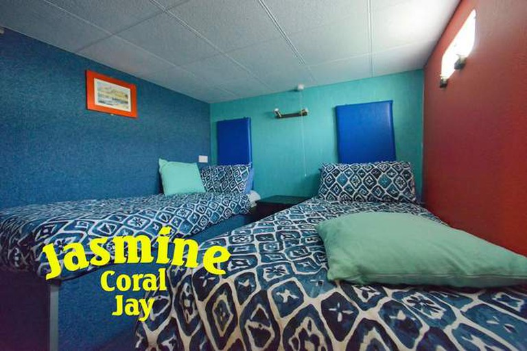 Boat living: Jasmine Coral Jay offers quirky accommodation on two small yachts