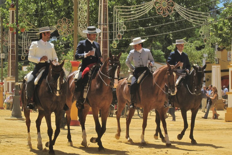 Los Alamos offers riding holidays in Jerez, a region famous for its horses and horsemanship
