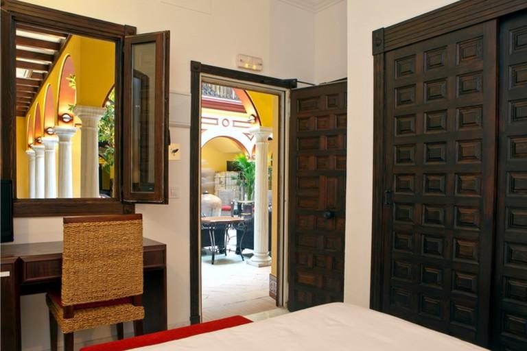 All of Ítaca's rooms open onto a stunning internal courtyard