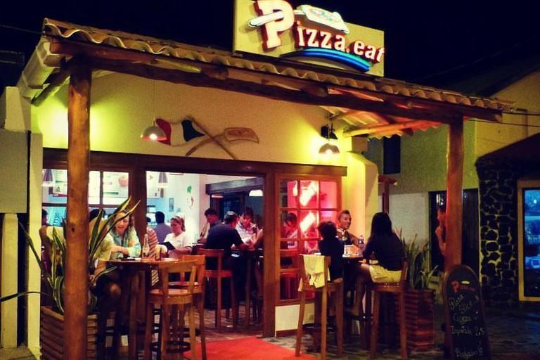 Pizza. Eat