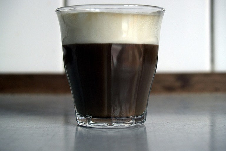 Cortado, a classic Uruguayan coffee