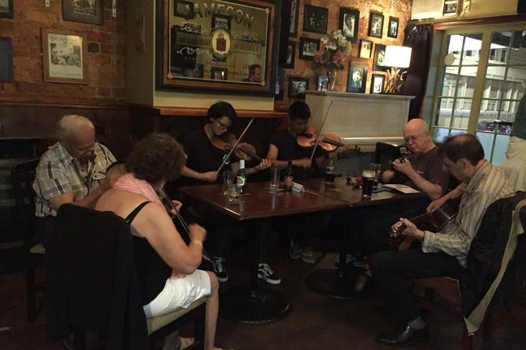 Irish Band in the Clare Inn