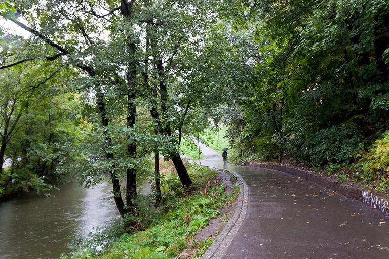 Akerselva river trail