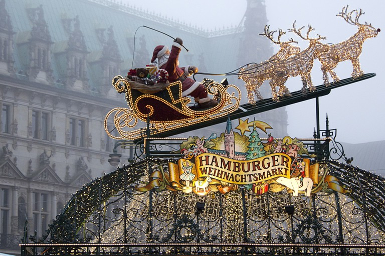 Historical Christmas Market, Hamburg
