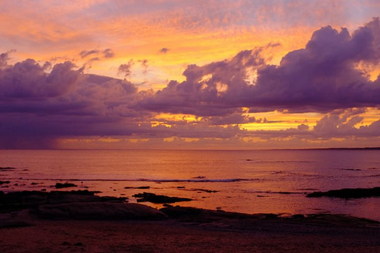 Enjoy the sunset at José Ignacio