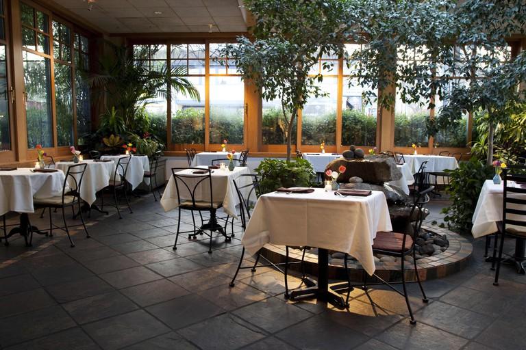 Cafe Flora Atrium