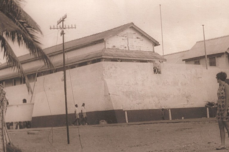 Fort Prinzenstein at Keta in 1970