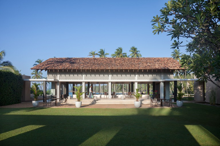 Photos sourced with permission from Amanwella Resort https://www.aman.com/resorts/amanwella The impressive Bawa inspired Amanwella Resort