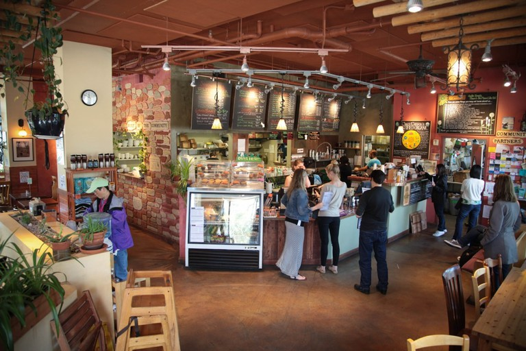 Chaco Canyon's University District Location | Courtesy of Chaco Canyon Organic Café