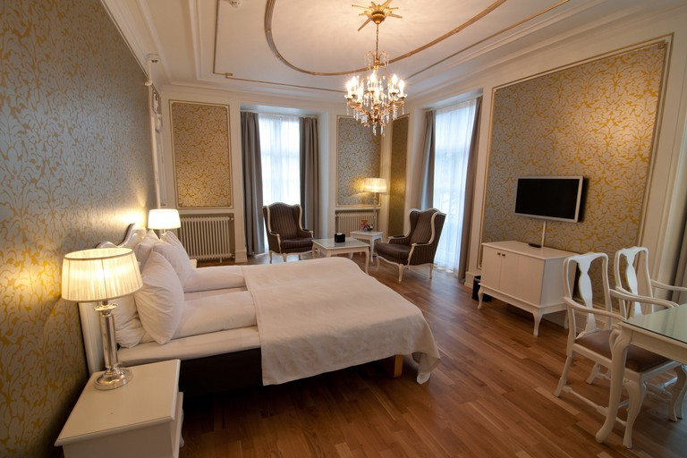 Junior suite at Grand Hotel Terminus