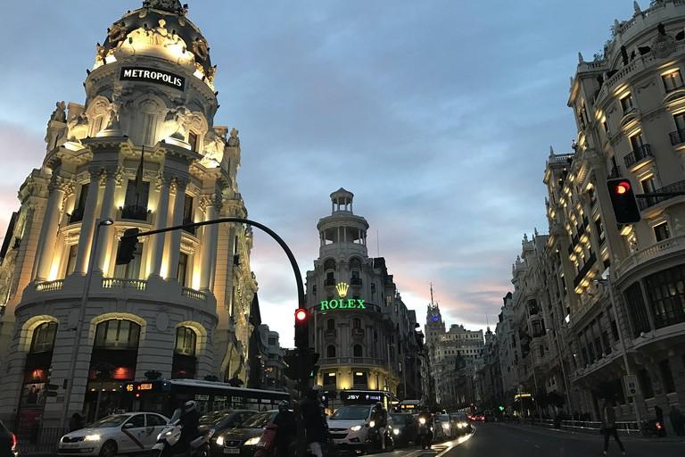 Madrid's Gran Vía