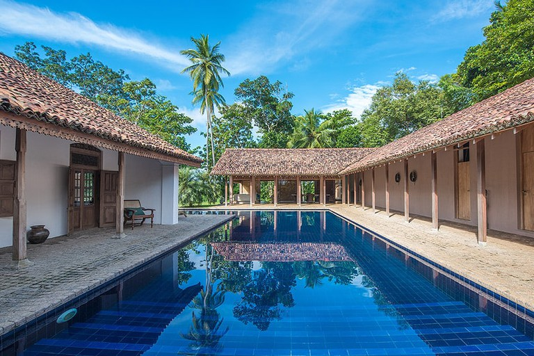 Relaxing pool at Maya Tangalle