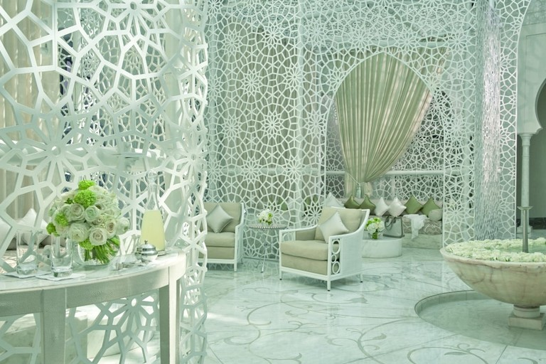 Magical spa at Hotel Royal Mansour