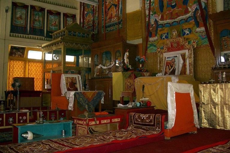 Interior of Tabo monastery