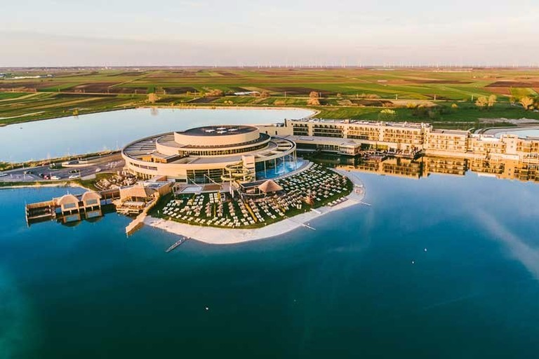 The spectacular resort