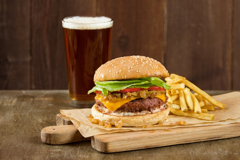 Veggie Grill's Beyond Burger