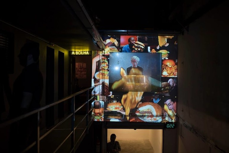 Art collaboration at Comuna