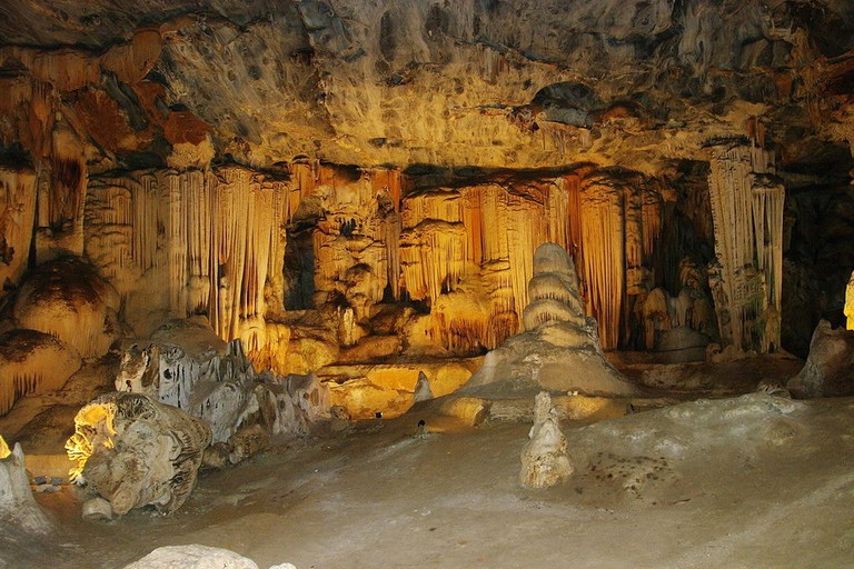 Inside the Cango Caves