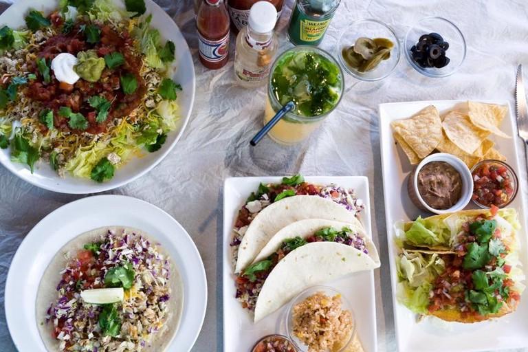 A Mexican feast at Dos Tacos