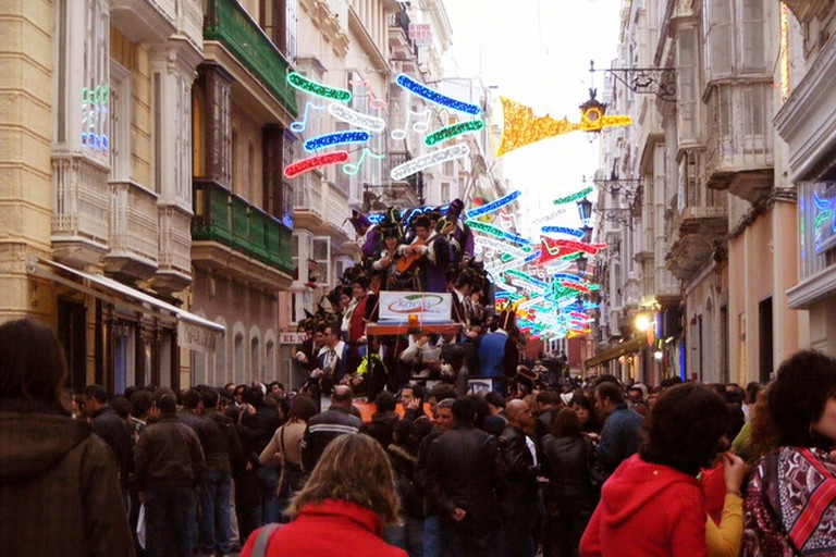 Many street performances take place in the streets around Hotel La Catedral