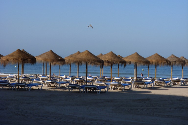 Cádiz's Playa Victoria is just 200 metres from Hotel Regio; Petrina Hu
