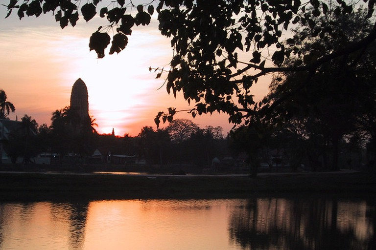 Ayutthaya's rivers offer scenic views