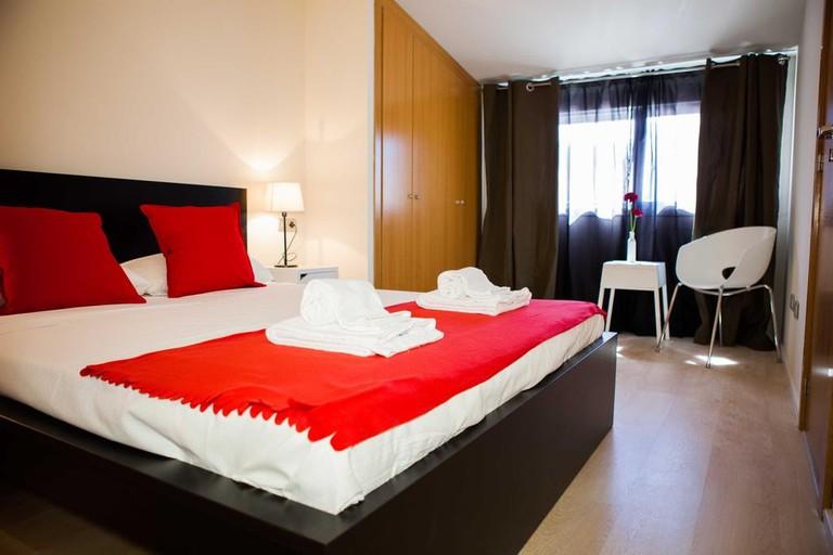 Double room at Hulot B&B Valencia.