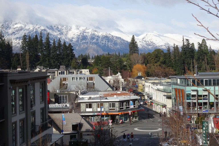 Downtown Queenstown New Zealand