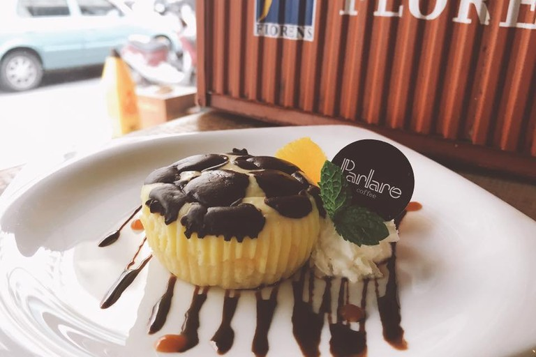 Delectable desserts at Parlare