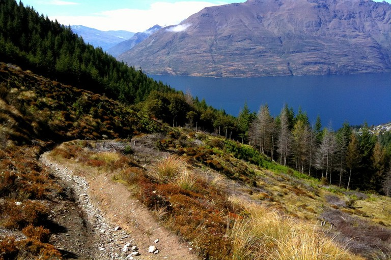 Ben Lomond Mountain Biking Track, Queenstown, New Zealand
