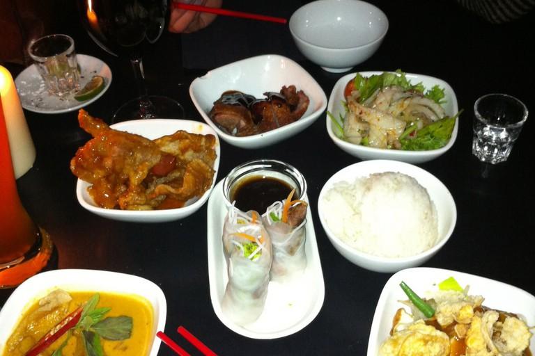 Dinner at Transit Mitte