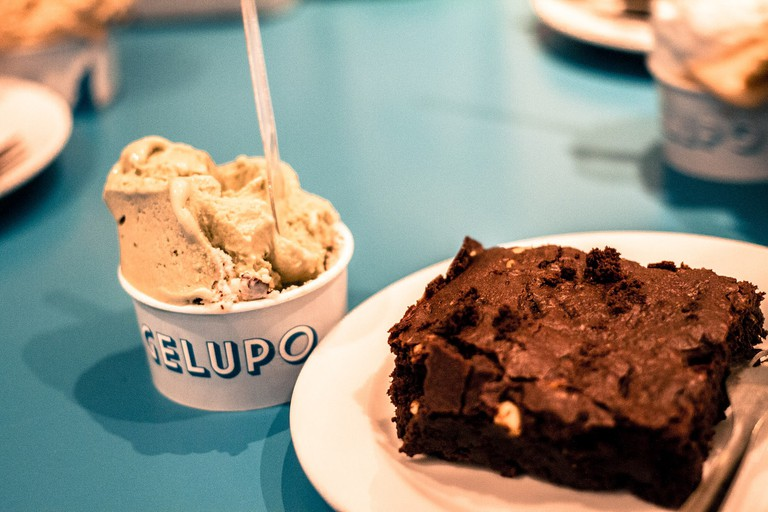 Gelato at Gelupo in Soho