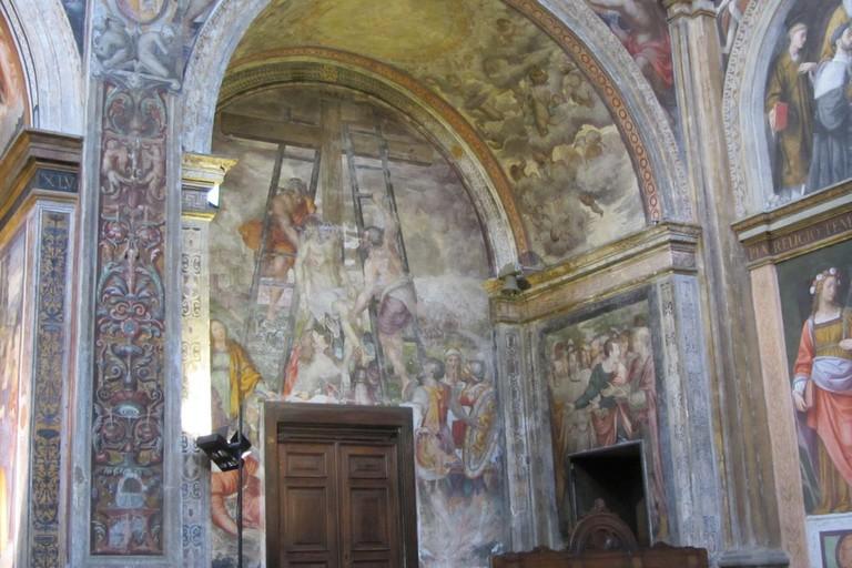 Part of the fresco at Chiesa di San Maurizio al Monastero Maggiore, Milan