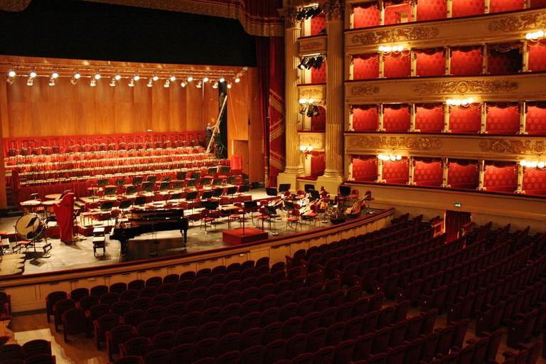 Inside Teatro alla Scala, Milan