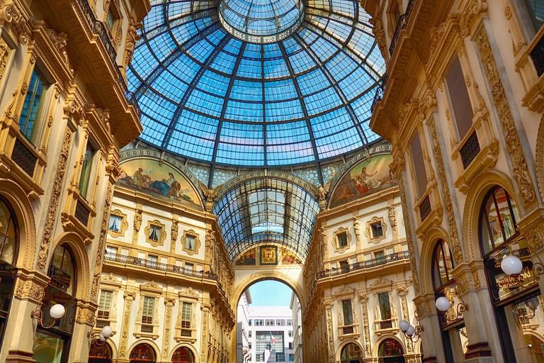 Galleria Vittorio Emanuele II, Milan | © Georgia/Flickr