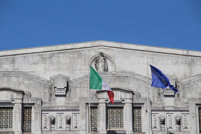 Art Deco design at Milano Centrale Railway Station