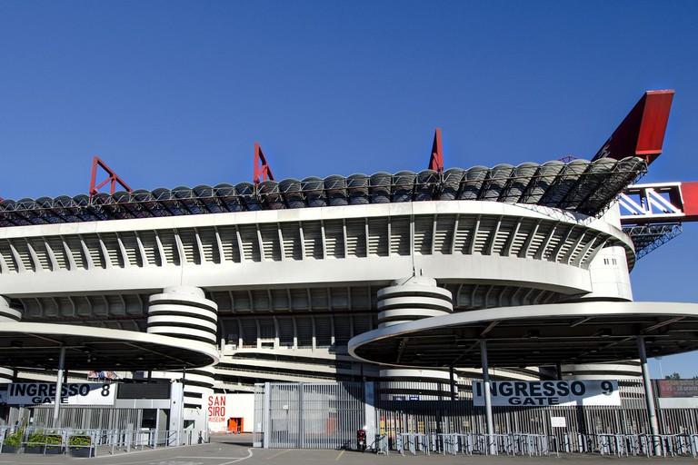 San Siro football stadium, Milan