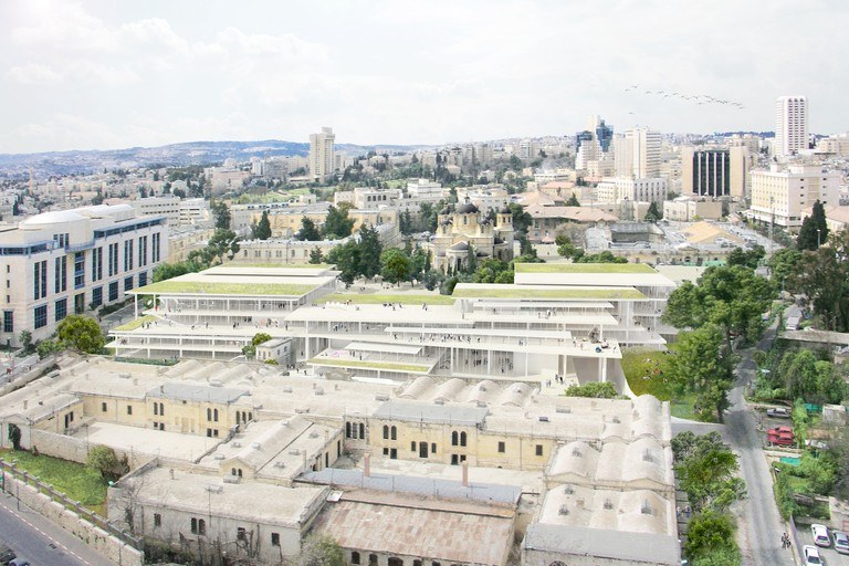 New Campus, Bezalel Academy of Art and Design