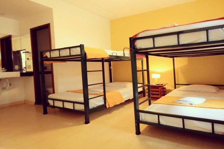 The Mango Tree Hostel's spacious rooms